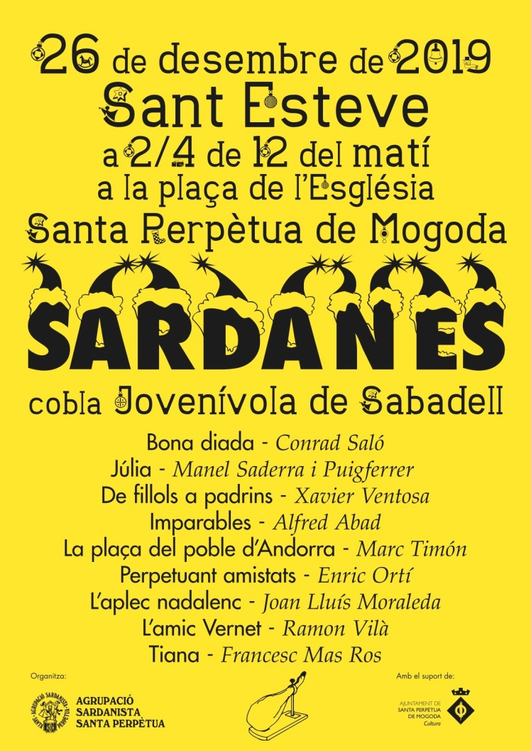 Audicio-Sant Esteve, 2019